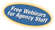 Free Webinars at Agency Staff